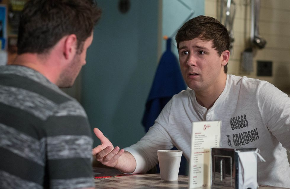Eastenders 26/7 - ​Martin realises all is not well with Lee