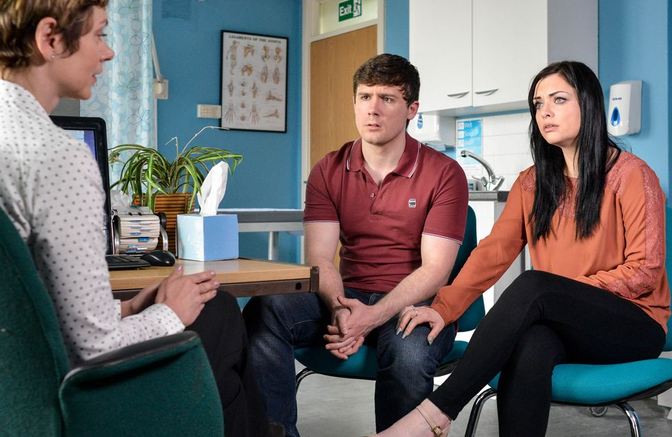 Eastenders 29/7 - Whitney panics when she gets a call from the doctors