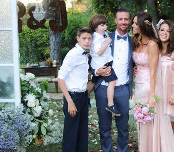 La boda sorpresa de Guti y Romina Belluscio