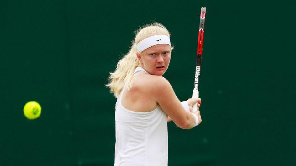 Francesca Jones, la tenista que compite con solo cuatro dedos