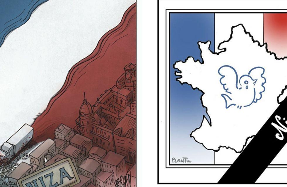 Attentat de Nice : les plus beaux hommages en dessins
