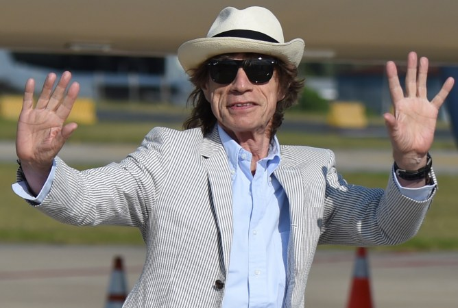 Mick Jagger a los 73