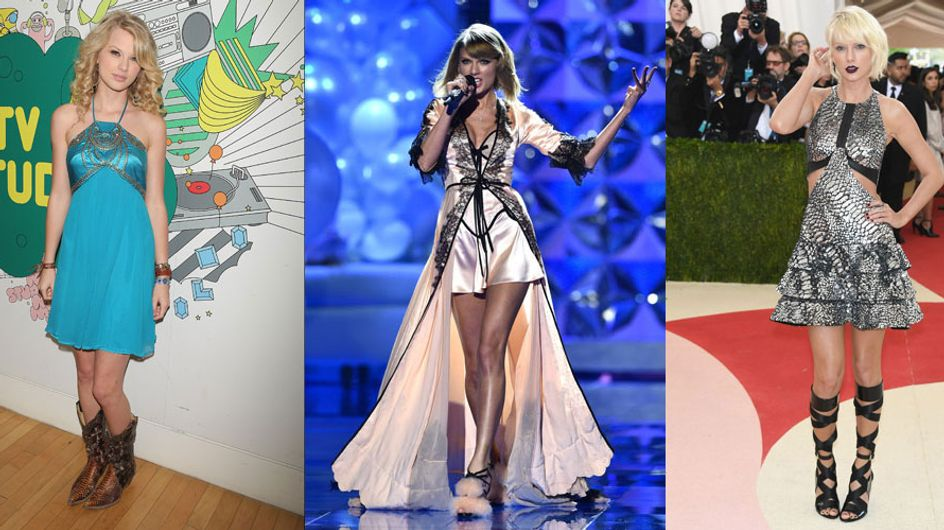 Taylor Swift's Style: From Country Chick To Gothic Goddess