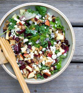 Les salades ne sont pas toujours une option minceur, attention aux pièges !