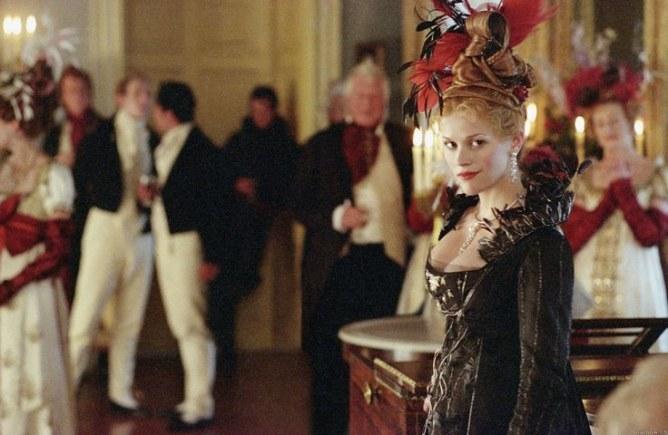 Reese Witherspoon en La feria de las Vanidades
