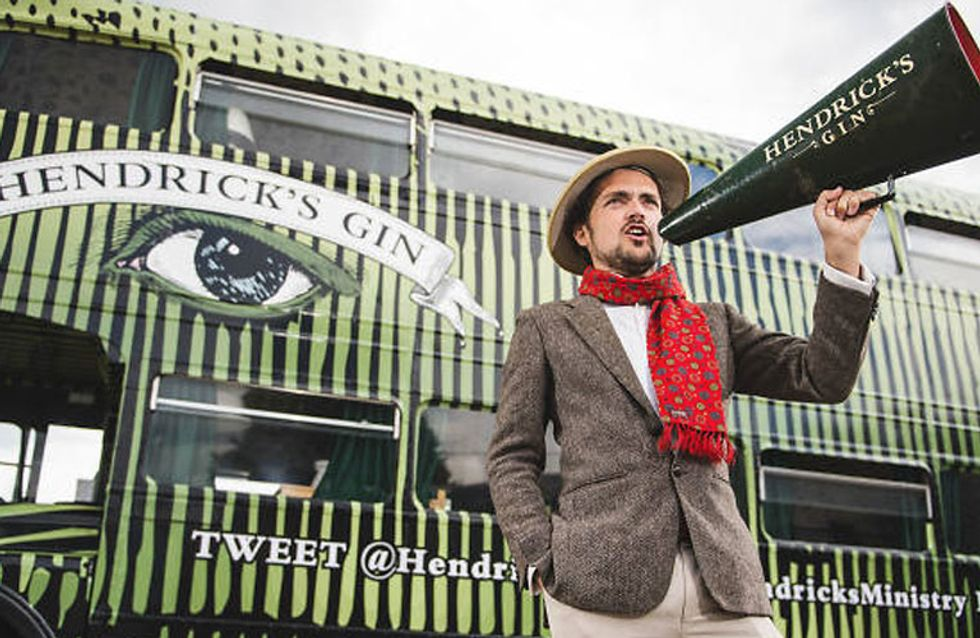 All Aboard: There's An Actual Gin Bus Driving Around London RN And You'll Want To Hop On