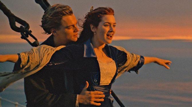 Kate Winslet en Titanic