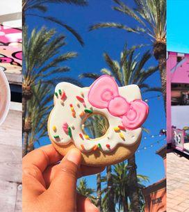 Uma cafeteria da Hello Kitty foi inaugurada nos EUA – e nós estamos apaixonadas!