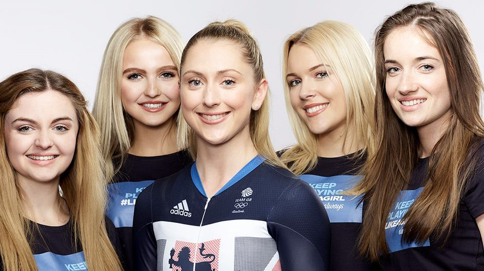 Olympian Laura Trott Is Inspiring Girls Everywhere To Carry On Playing Sport #LikeAGirl