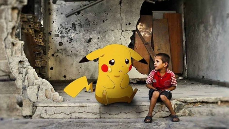 El guiño a Pokémon Go con los niños de Siria como protagonistas