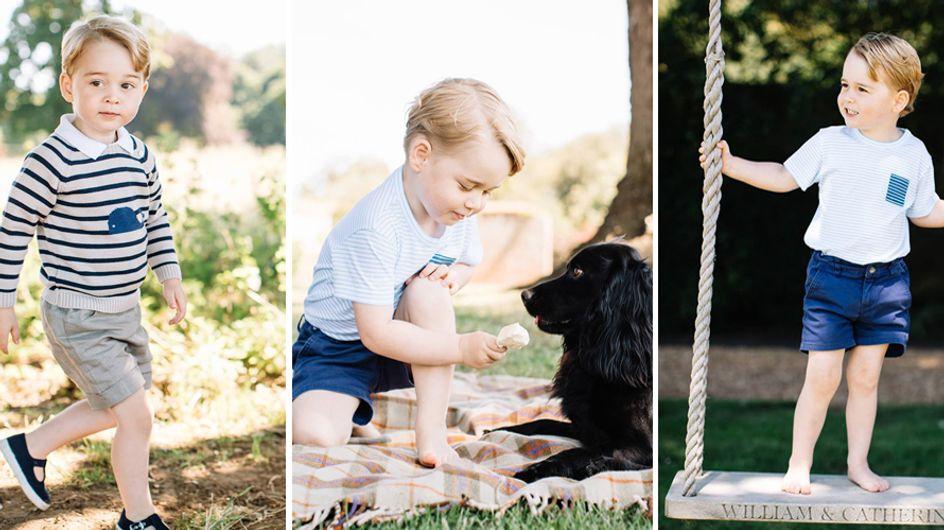 Il piccolo George compie 3 anni, ed è sempre più adorabile! Ecco le dolcissime immagini!