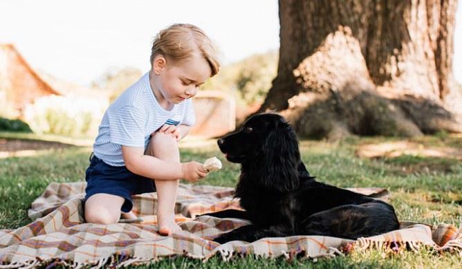 Prince George's third birthday