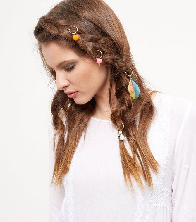 Piercings cheveux, New Look - 8,99 €