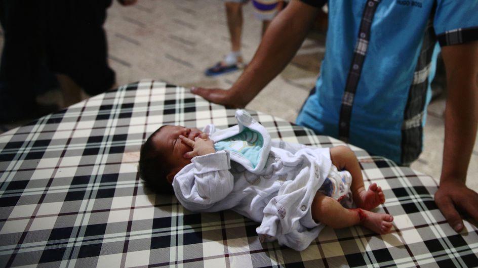 Un nouveau-né meurt dans des bombardements d'hôpitaux en Syrie