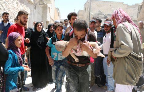 Un bébé syrien
