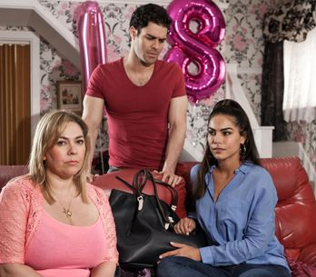 Hollyoaks 02/8 - Mercedes warns Diego to get rid of Maria and the drugs