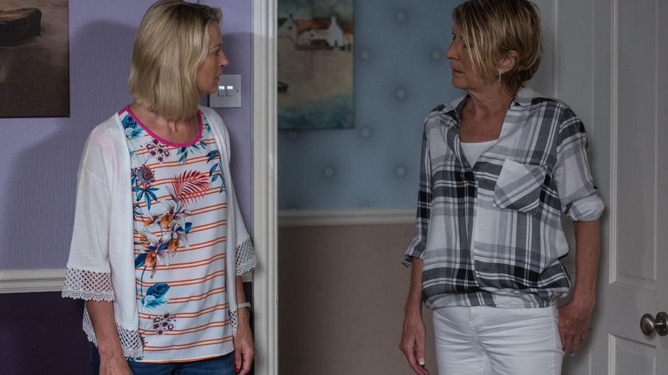 Eastenders 01/8 - Whitney grows paranoid about what Lee's family thinks of her