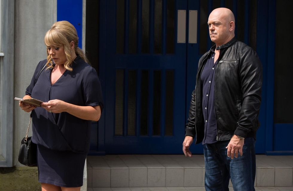Eastenders 05/8 - Sharon comes face-to-face with Grant once more