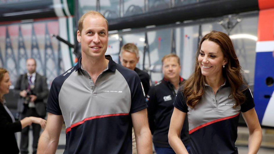 Kate Middleton, toujours chic même en tenue de sport (photos)