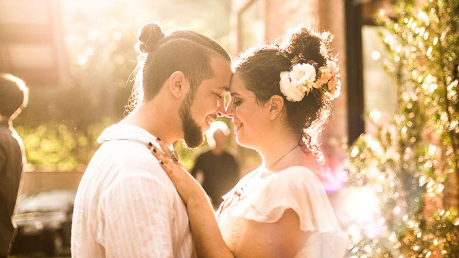Ju ♥ Dan: um casamento de conto de fadas!