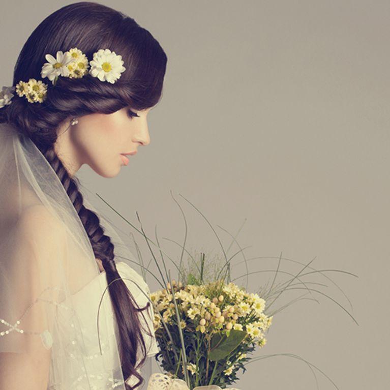 Die Schonsten Brautfrisuren Mit Schleier