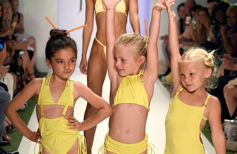 """Une marque accusée de """"sexualiser"""" les enfants pour les avoir fait défiler en bikinis"""