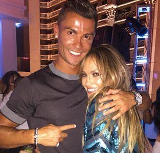 Jennifer Lopez y Cristiano Ronaldo