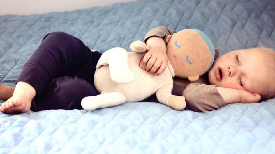 Wundermittel für junge Eltern: Diese Puppe verspricht, Babys länger und besser schlafen zu lassen