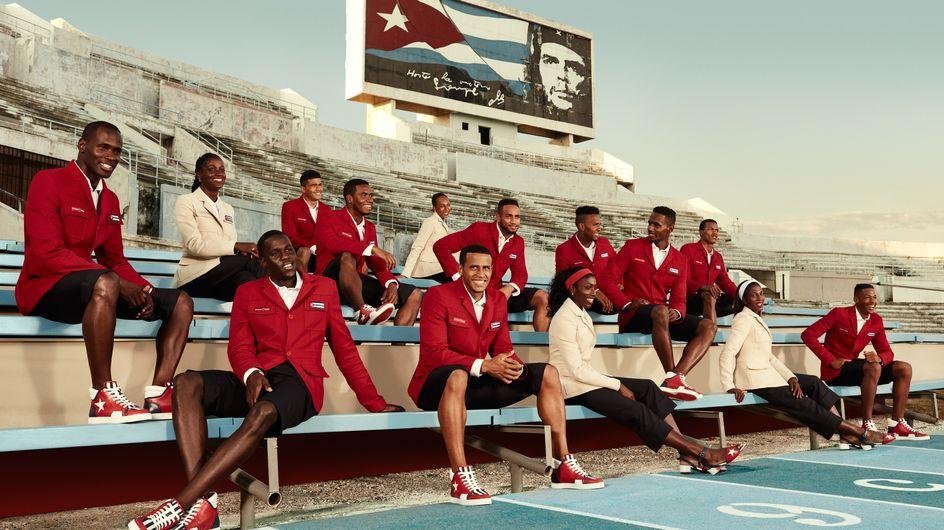 Christian Louboutin vestirá al equipo Olímpico de Cuba