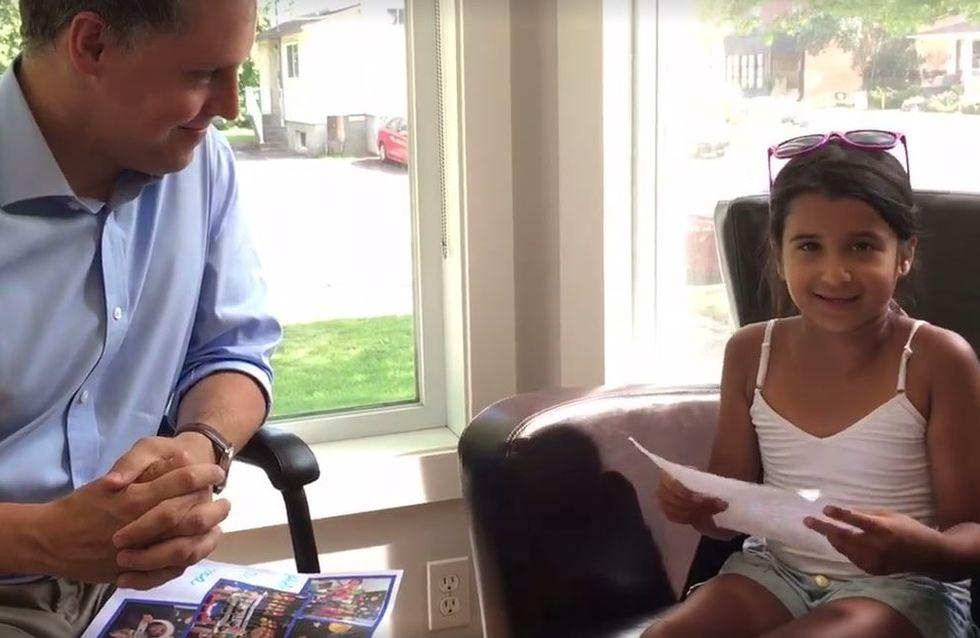 A 8 ans, elle candidate pour devenir astronaute, un ministre lui répond