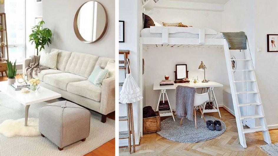 1-Zimmer-Wohnung einrichten: Tipps und Tricks zum Platzsparen