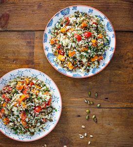 Mit Quinoa lassen sich viele leckere Gerichte kochen.