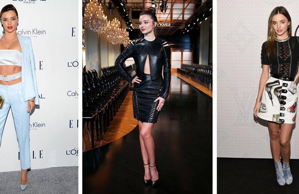 Retour sur les 10 plus beaux looks de Miranda Kerr