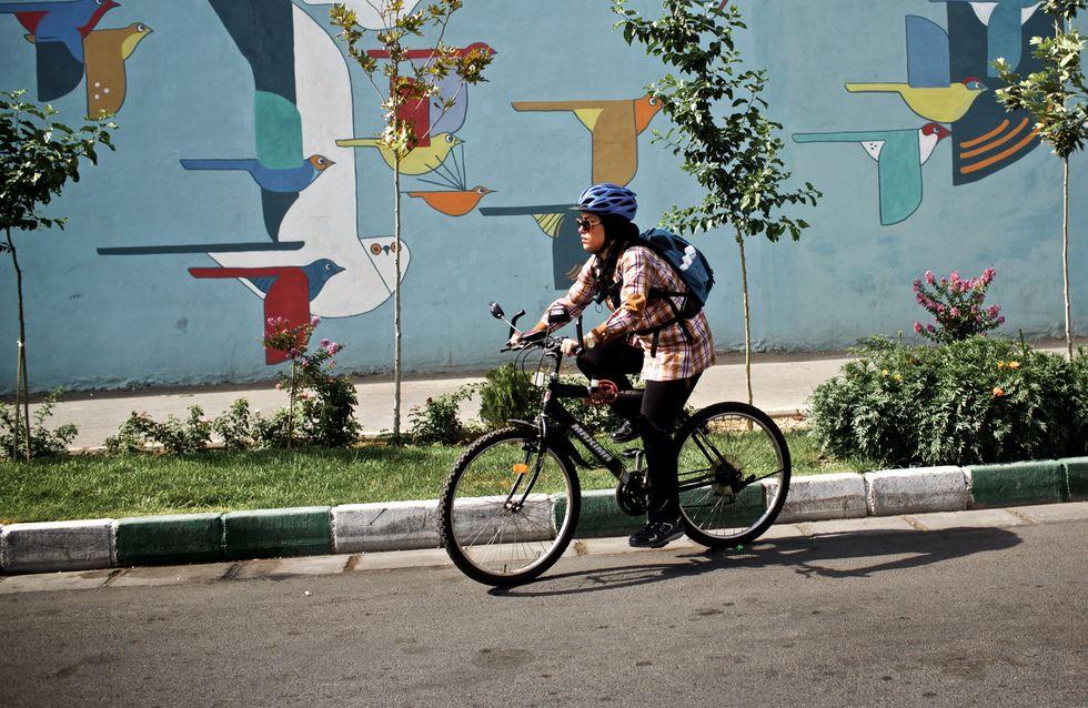 En Iran, un groupe de femmes arrêté pour avoir fait du vélo