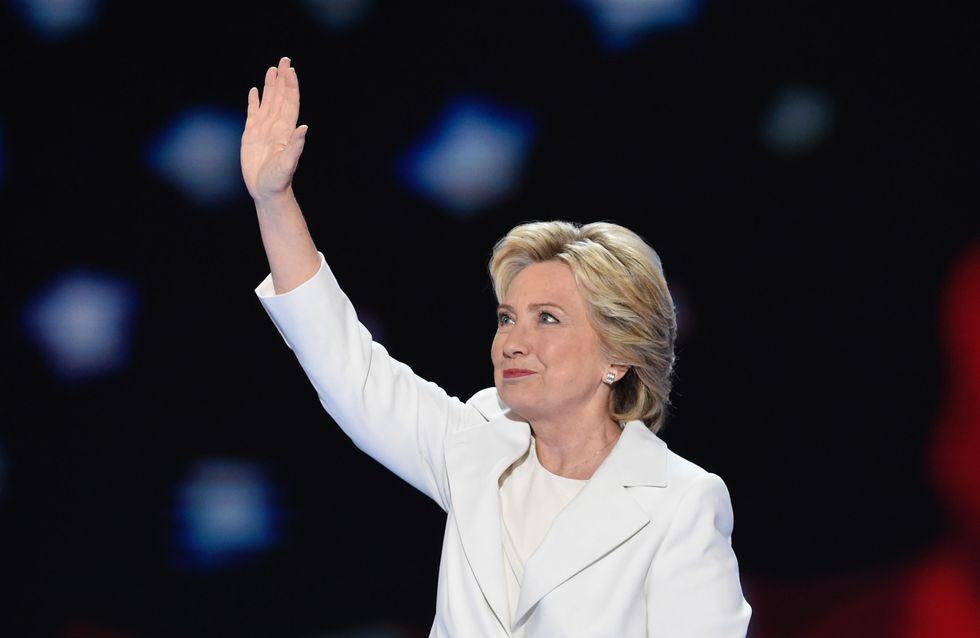 Hillary Clinton vuelve a hacer historia: Seré presidenta de los que me voten y de los que no