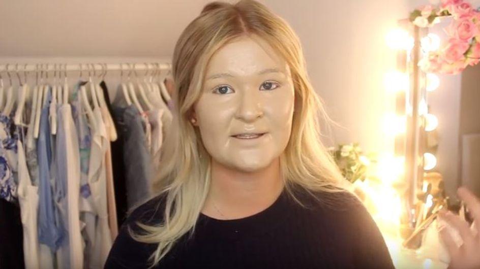 Mais qu'ont-elles toutes à se mettre 100 couches de produits sur le visage ? (photos & vidéos)