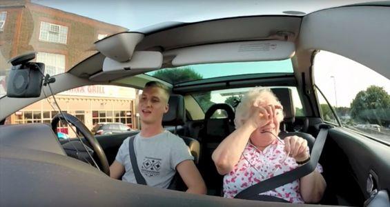David Goodings et sa grand-mère