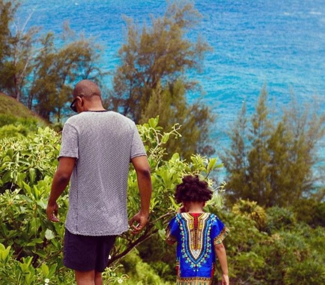 Jay Z y Blue Ivy