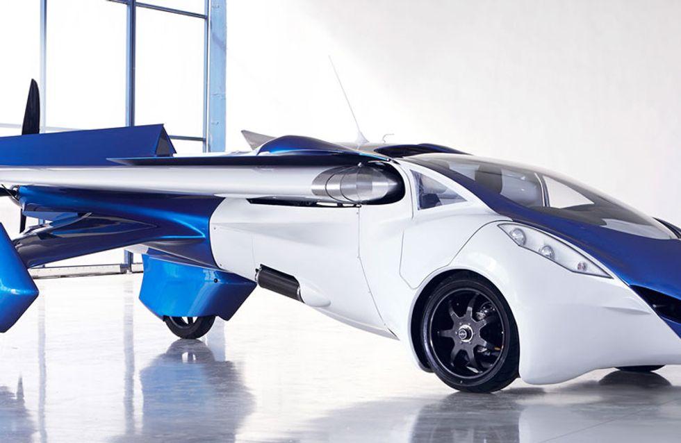 AeroMobil 3.0: el coche volador que despegará muy pronto