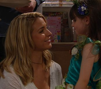 Emmerdale 12/8 - April tells Carly she'd choose her to be her new Mum