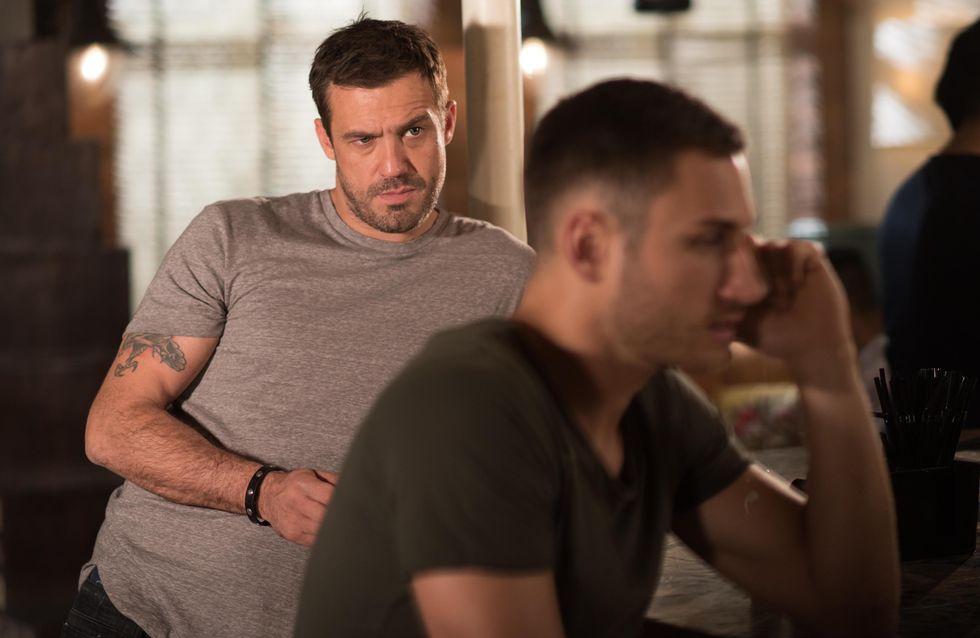 Hollyoaks 08/8 - Freddie meets Warren who offers to source an engine