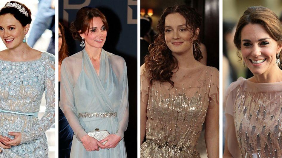 ¿Se inspira Kate Middleton en los looks de Blair Waldorf?