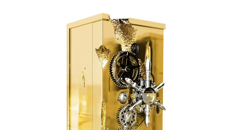 'Millionaire Safe', la caja de seguridad que está cubierta de oro