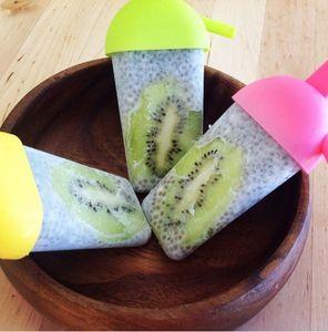 Superfood als Eis: Chia-Kokos-Kiwi Eis