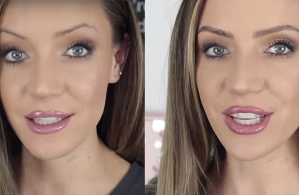 This Blogger Glued Her Actual Hair To Her Eyebrows And You *Need* To See The Result
