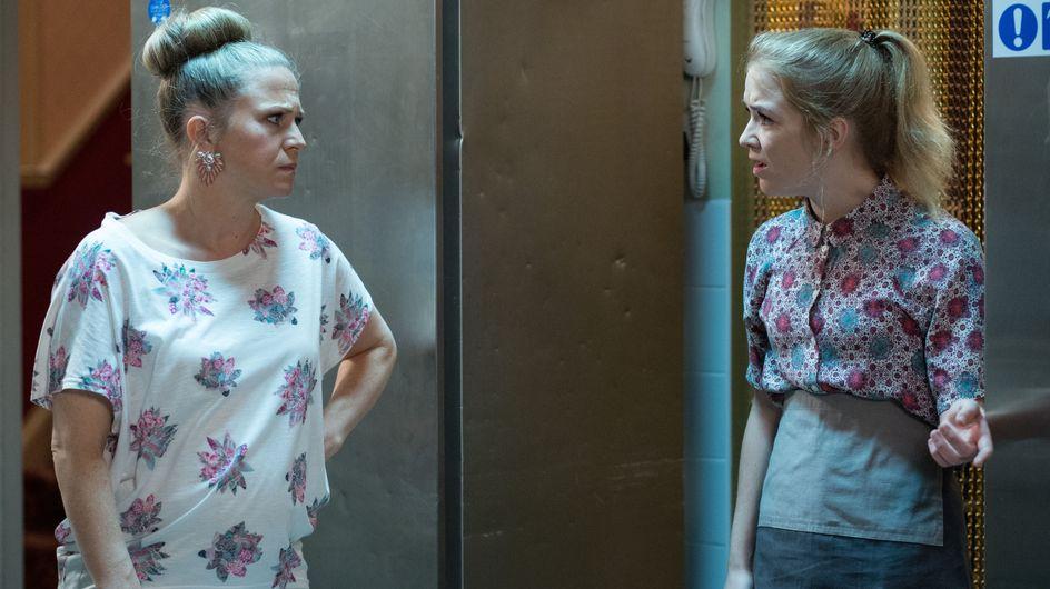 Eastenders 15/8 - Fed up of the bickering, Linda fires Abi