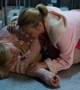 Eastenders 16/8 - Linda and Whitney discover an unconscious Babe