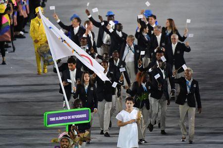 L'équipe des Réfugiés de Jeux Olympiques de Rio