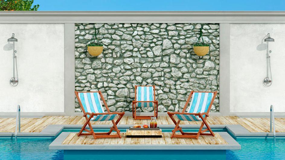 ¡Refréscate! 10 duchas impresionantes para tu piscina