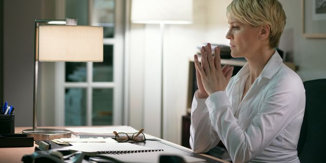 Robin Wright dans House Of Cards